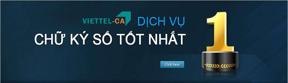 Chữ ký số Viettel tại Bình Dương