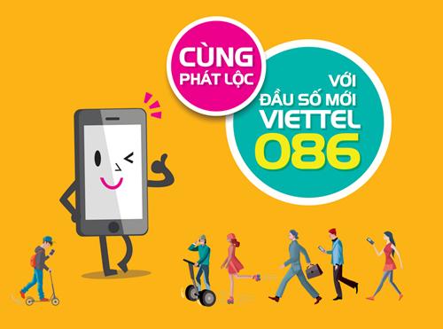 Di Động trả sau viettel đầu số mới Phát Lộc 0868