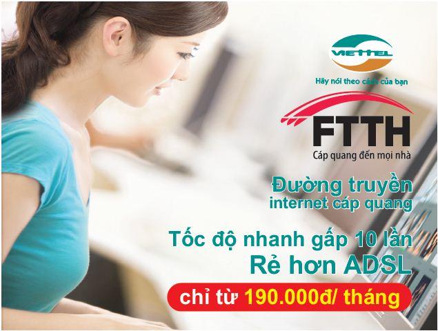 Lắp mạng viettel Thuận an Bình Dương Khuyến Mãi Tháng 10/2015