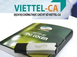 Đăng ký mới & gia hạn chữ ký số viettel bình dương 12/2015
