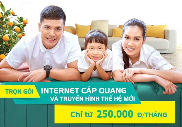 Viettel Thuận An khuyến mãi lắp mạng internet wifi